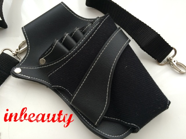 hair dressing holster leather look