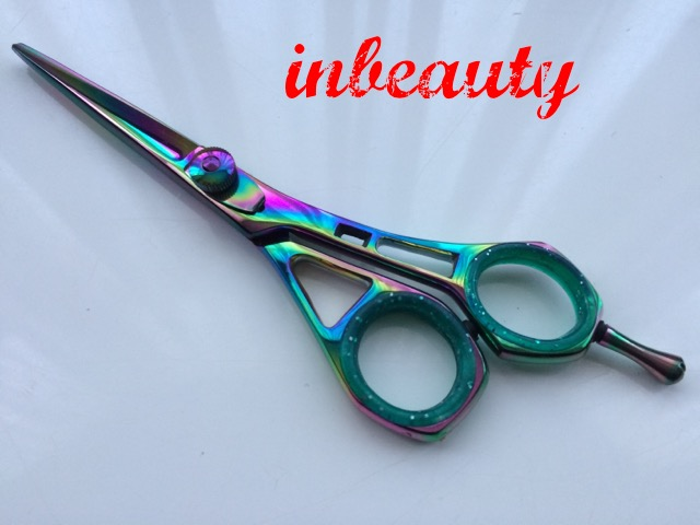 hair dressing scissors 5.5 inch multi dragon
